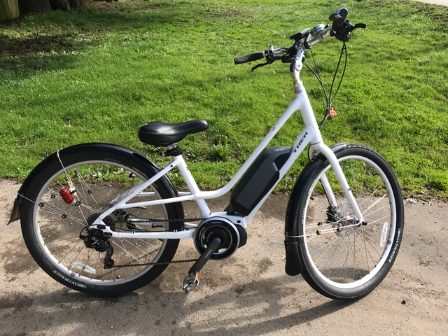 Trek Lift Shimano Drive bike provided with Zero Emissions Bike Tours