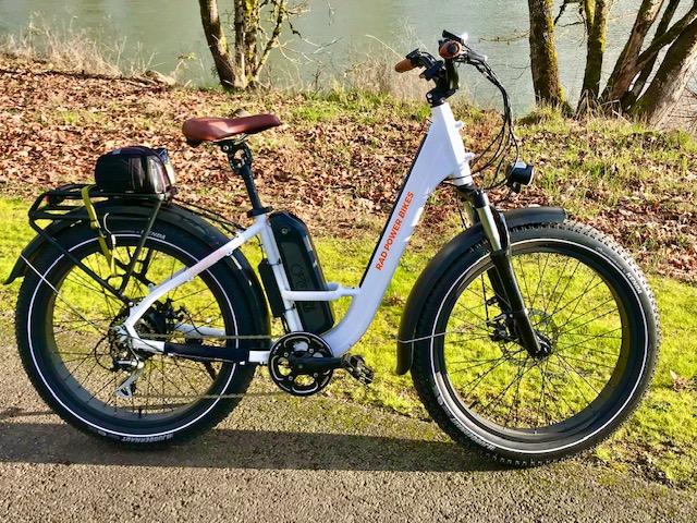 Rad Rover Step Thru Electric Fat Tire Bike