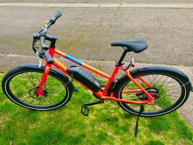 Rad Mission Mid Step Electric Commuter Bike